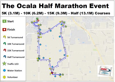 Ocala Course Map